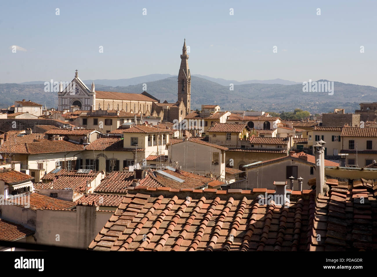 View East Over Florence From The Terrazza Di Saturno