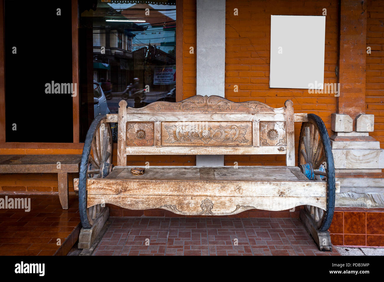 Awesome Old Wooden Bench Found In Bali With Design In The Wood And Theyellowbook Wood Chair Design Ideas Theyellowbookinfo