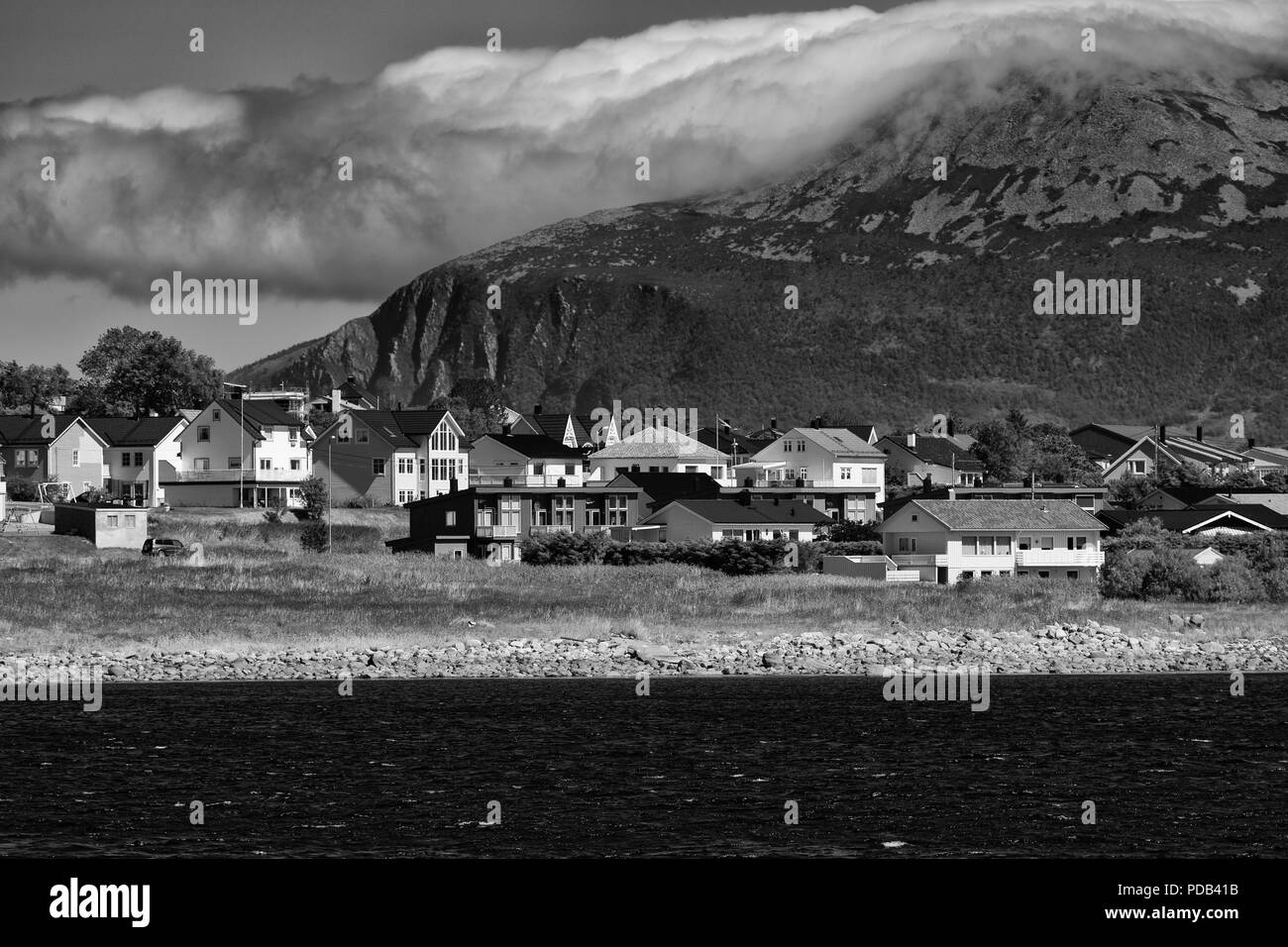 Valderoya Island, Alesund City, More og Romsdal County, Norway - Stock Image