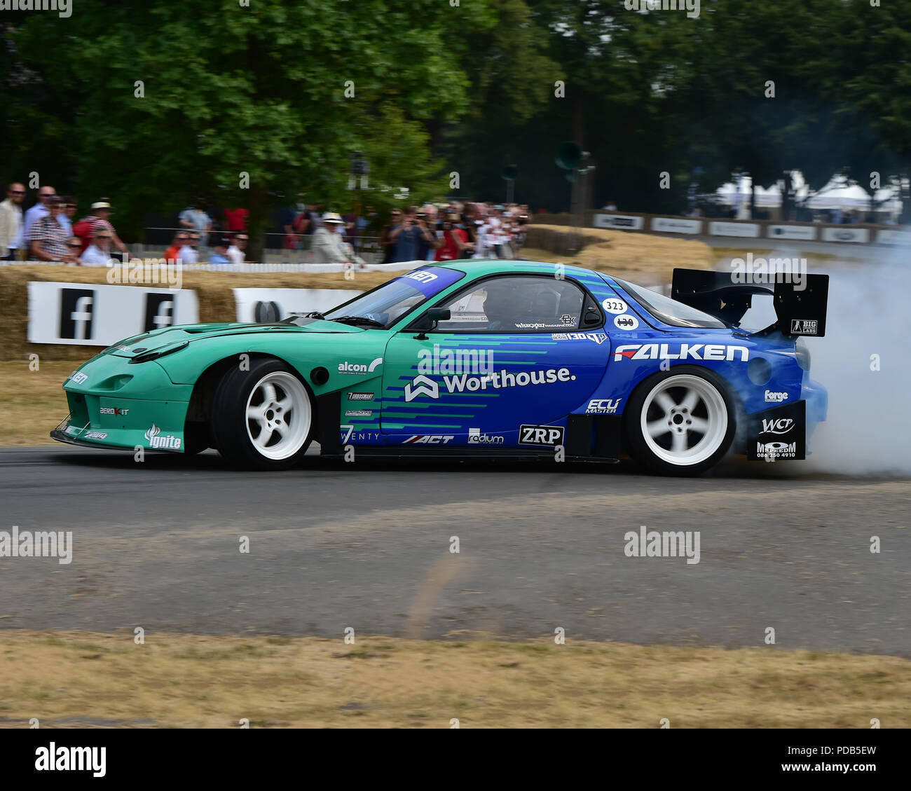 Drifting Cars Mazda Fd3s Rx7: Mazda Rx 7 Stock Photos & Mazda Rx 7 Stock Images