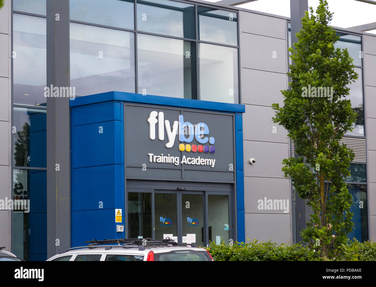 Flybe Training Academy in Exeter - Stock Image