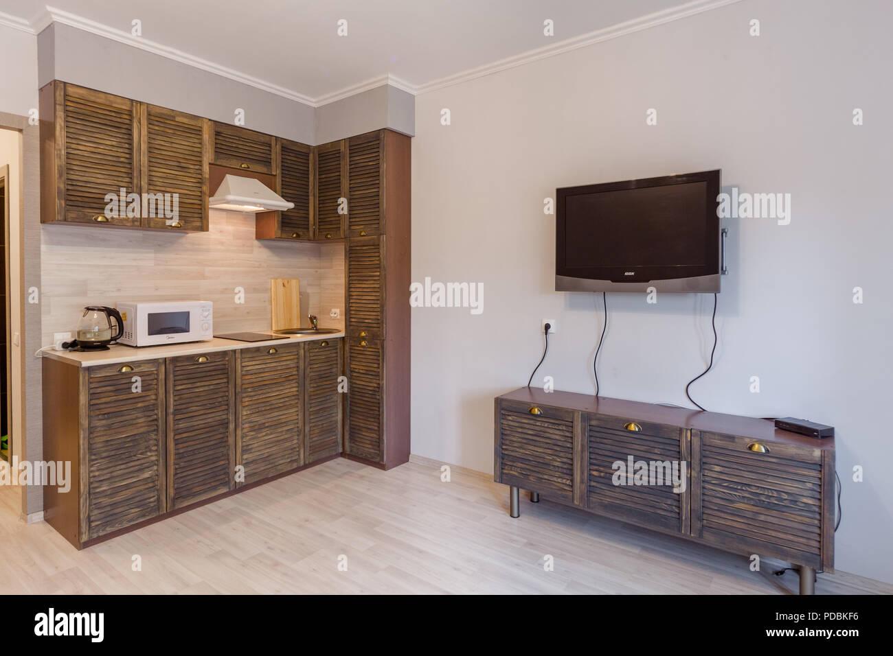 Small Studio Apartment Furniture Stock Photos & Small Studio ...