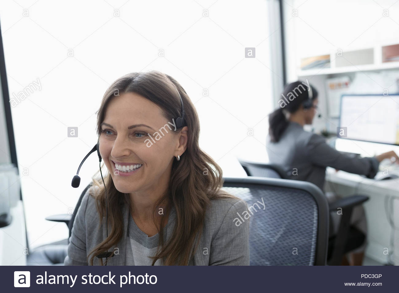 medical office receptionist phone stock photos medical office