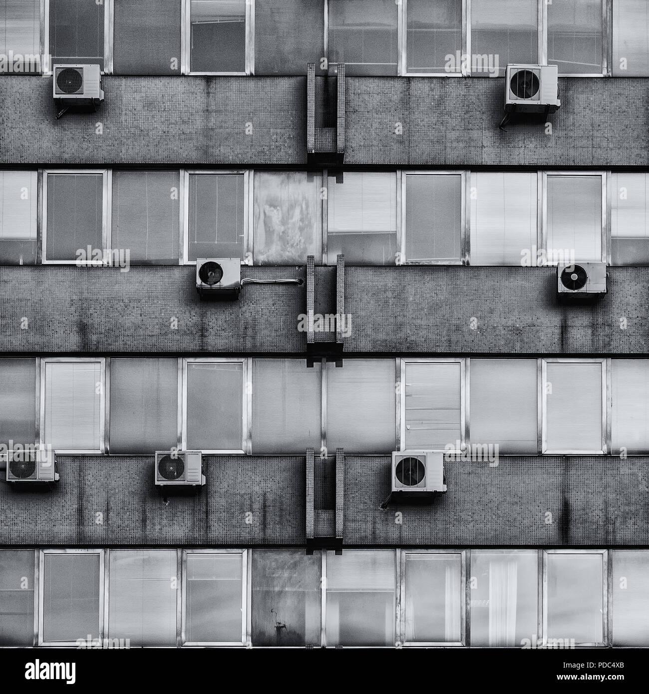 Public housing in Croatia - Stock Image