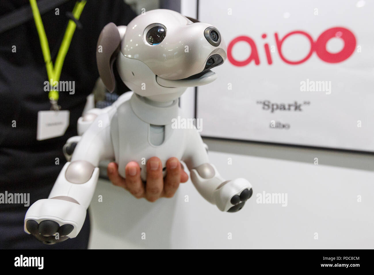 Robot Dog Sony Stock Photos & Robot Dog Sony Stock Images