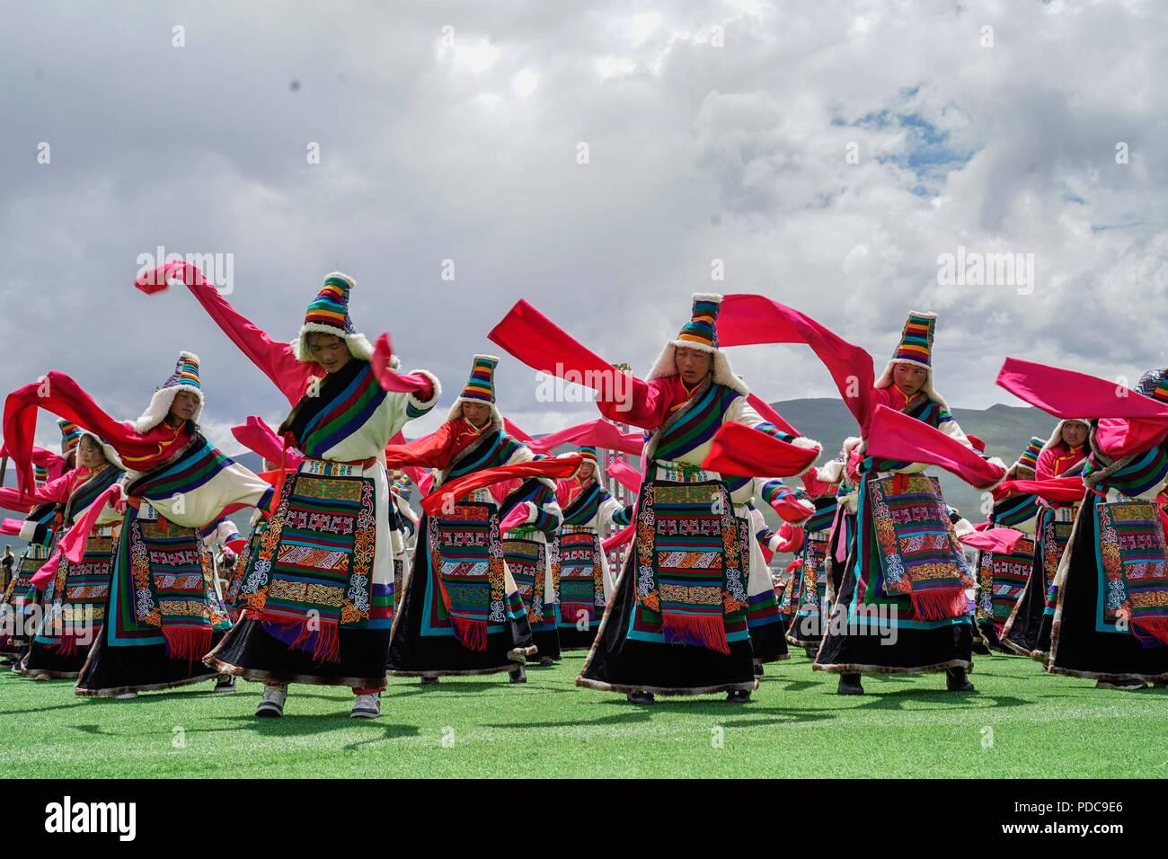 Damxung, China's Tibet Autonomous Region  8th Aug, 2018