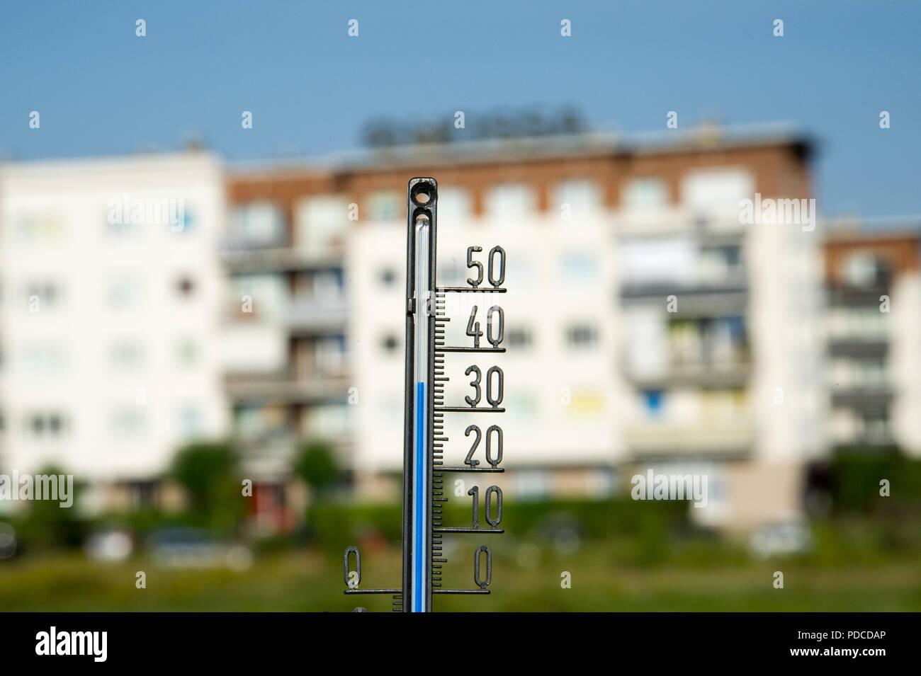 35 Celsius Degrees 95 Fahrenheit In Gdansk Poland August 8th 2018 C Wojciech Strozyk Alamy Live News