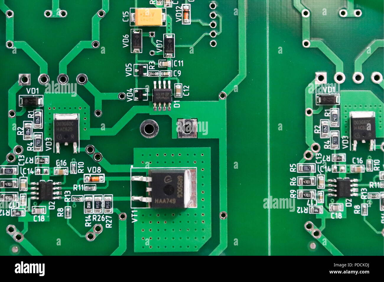 Russian Moscow Electronic Stock Photos Making Printed Circuit Boards Russia August 9 2018 Pcb
