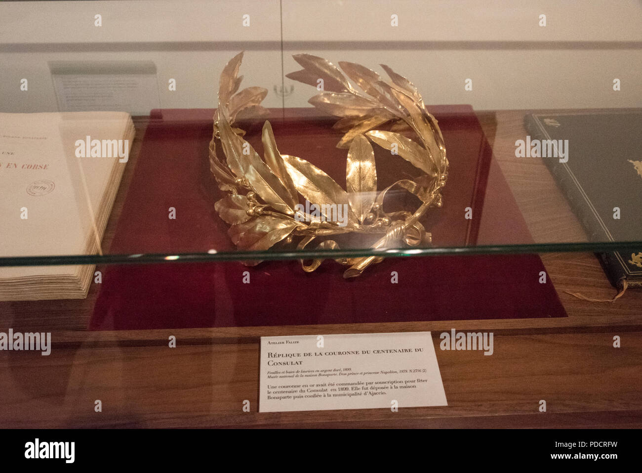 Gold Leaf Crown High Resolution Stock Photography And Images Alamy You'll receive email and feed alerts when new items arrive. https www alamy com a replica of the golden laurel leaf crown that napoleon bonaparte wore as emperor of much of occupied europe at his coronation in paris 1804 the cr image214796845 html