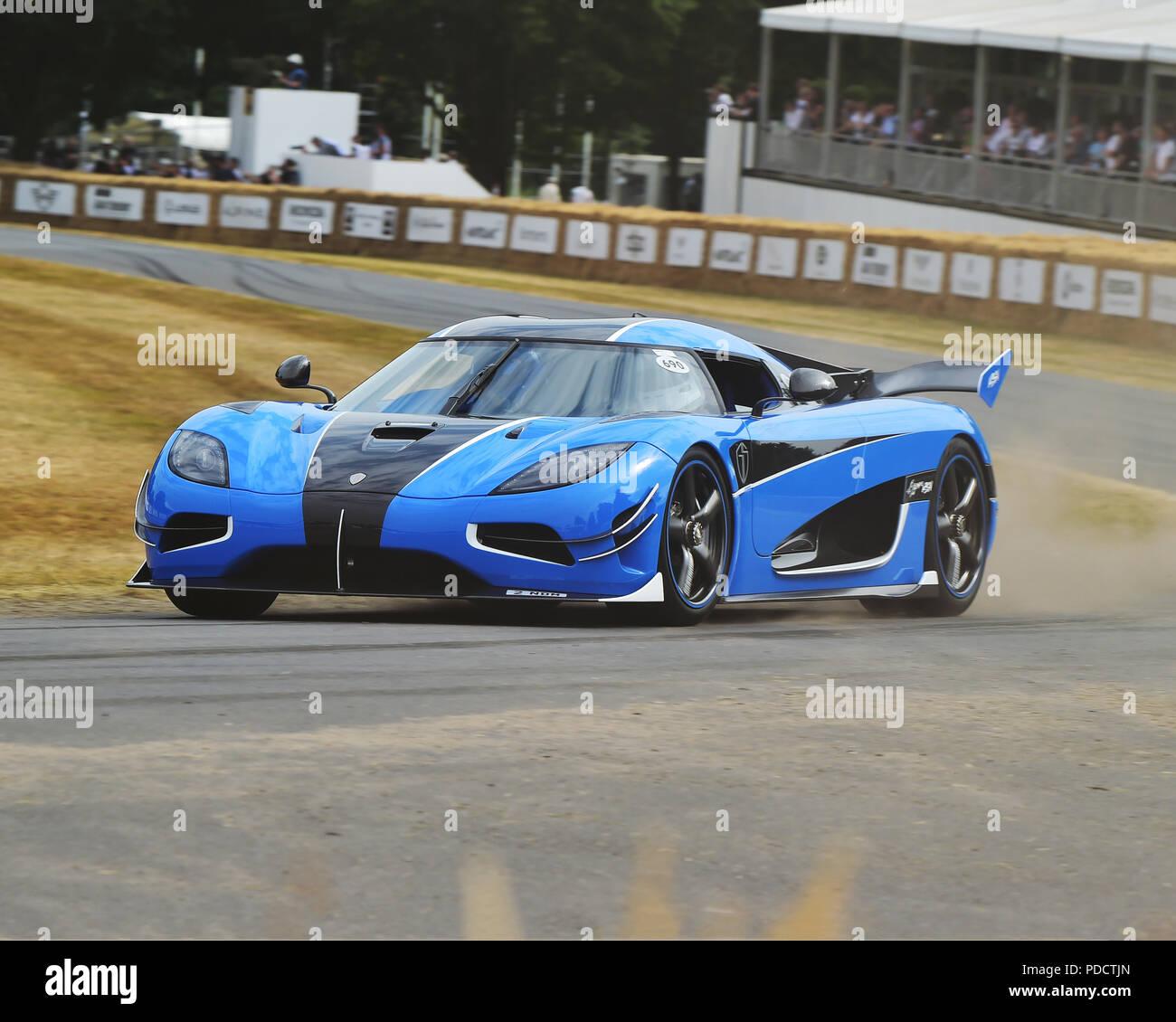 Koenigsegg Supercar Stock Photos & Koenigsegg Supercar