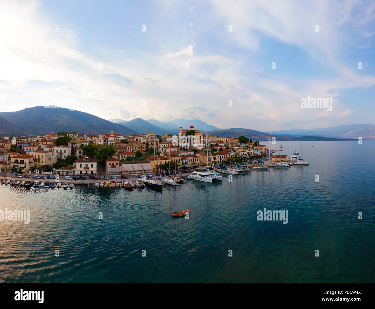 Galaxidi panorama - Stock Image