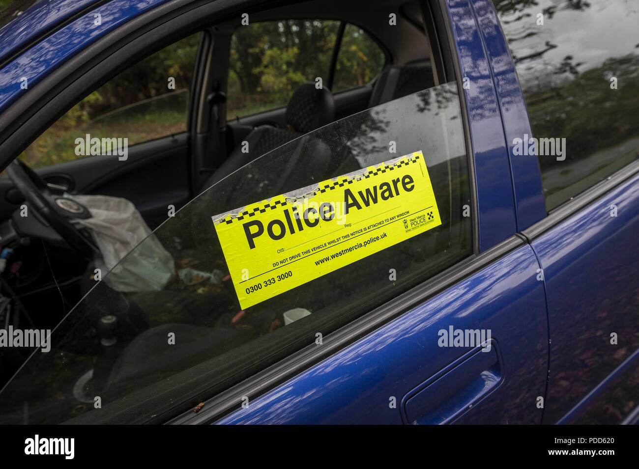 Police Aware Sticker High Resolution Stock Photography And Images Alamy [ 955 x 1300 Pixel ]