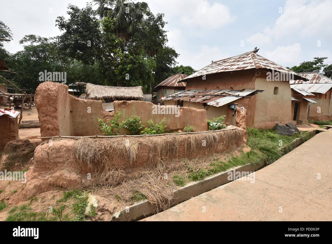 Village Hut Rural West Bengal Stock Photos & Village Hut