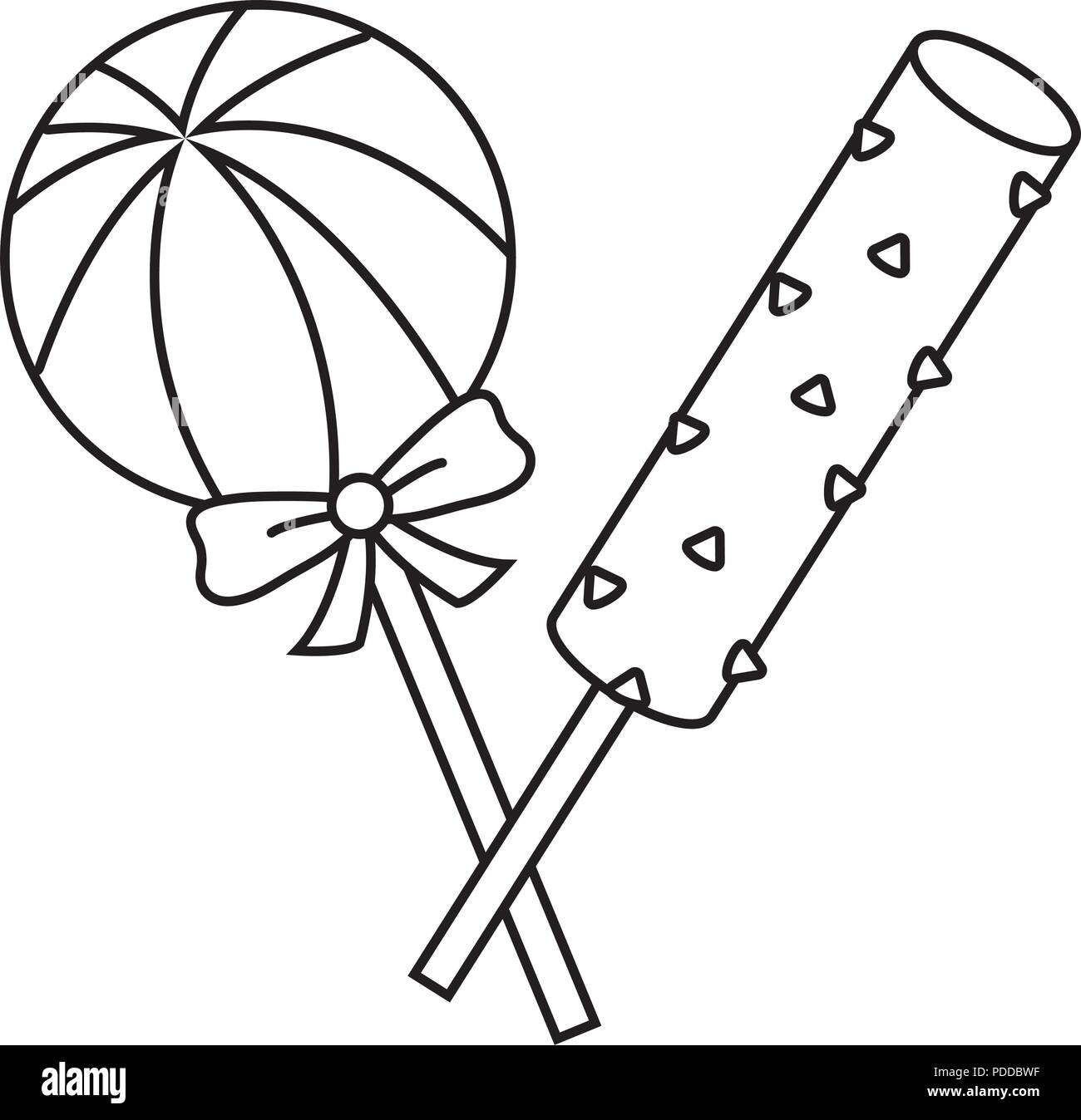 chocolate lollipop black and white stock photos images alamy