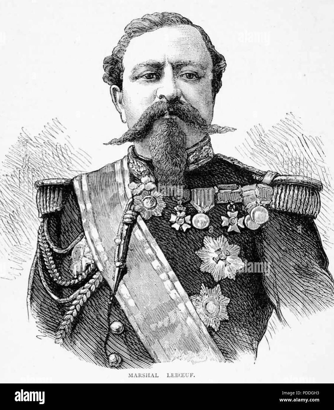 EDMOND LE BOEUF (1809-1888) as a Marshal of France - Stock Image