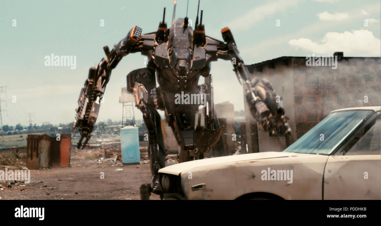 DISTRICT 9  2009 TriStar Pictures film - Stock Image