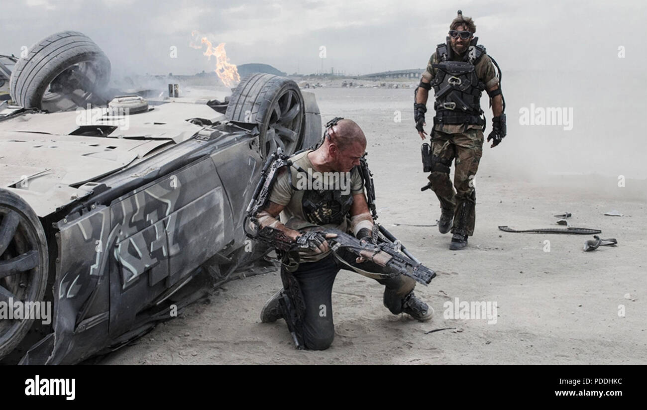 DISTRICT 9  2009 TriStar Pictures film Stock Photo
