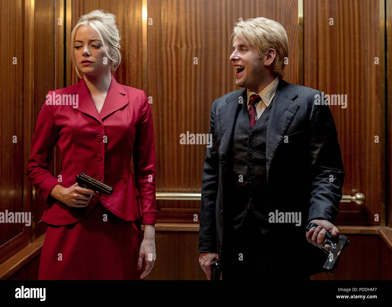 MANIAC 2018> Paramount Television series with Emma Stone and Jonah Hill - Stock Image
