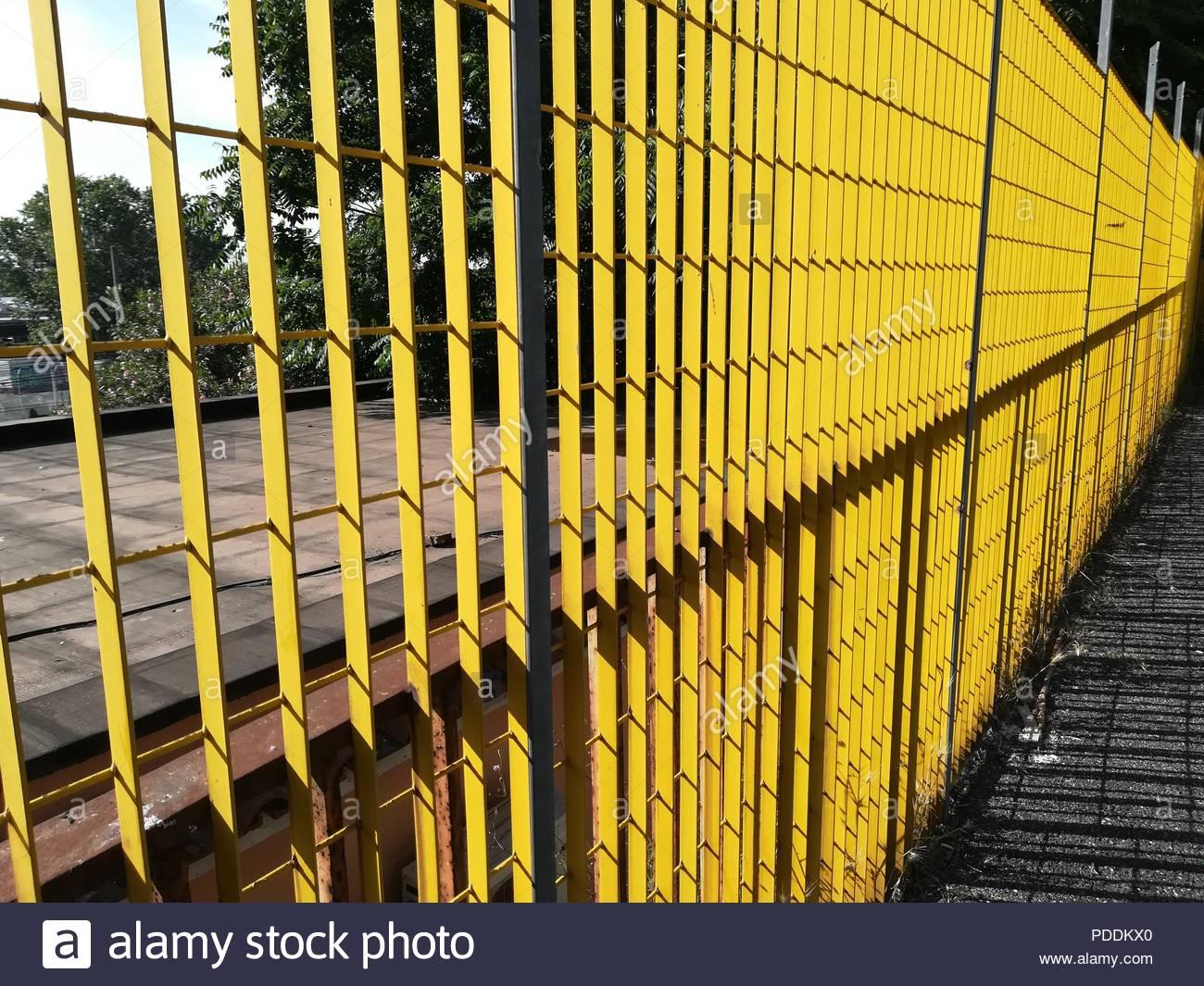 Boundary Wall Railing Stock Photos & Boundary Wall Railing Stock ...