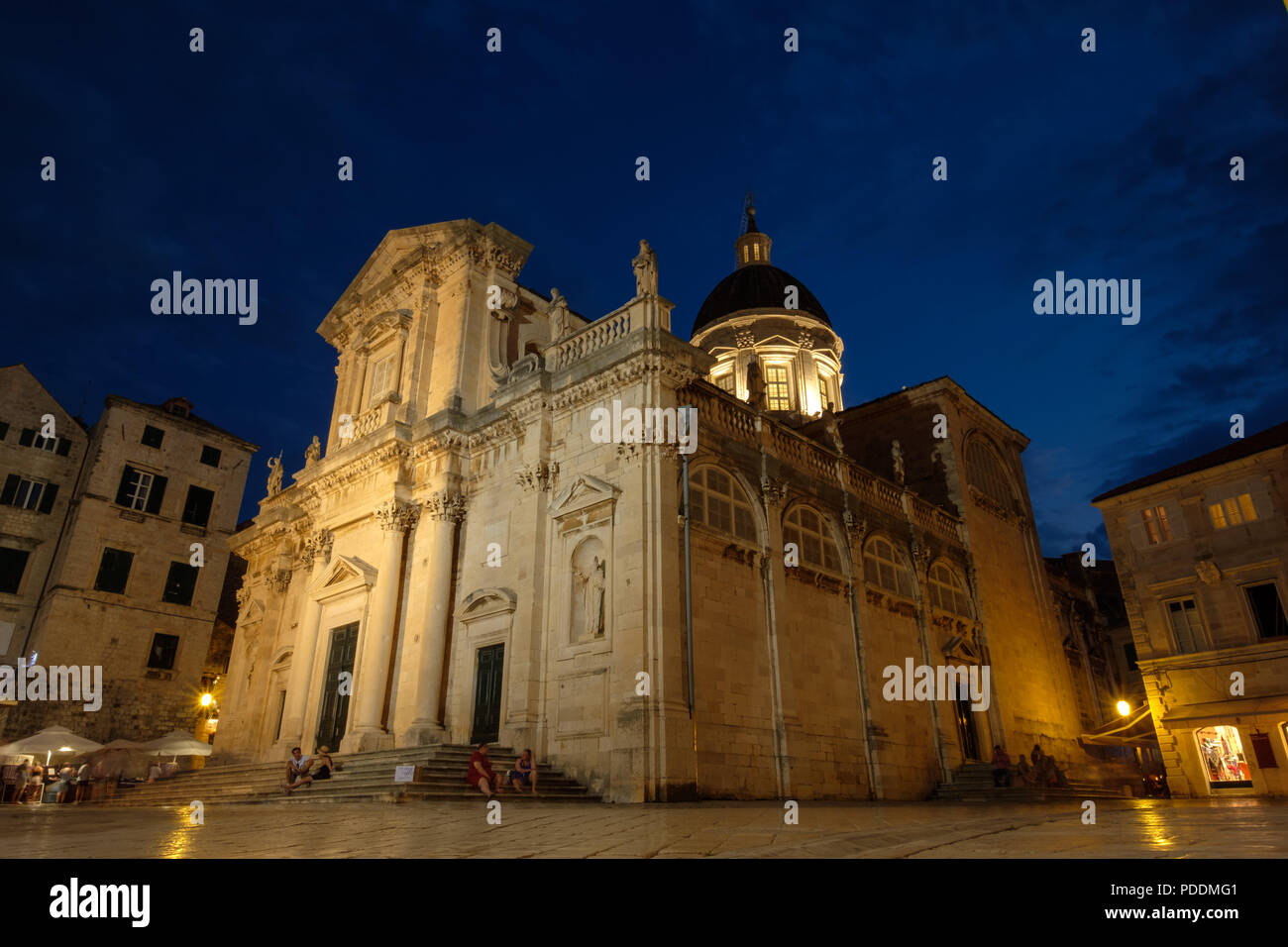 Dubrovnik Cathedral Katedrala Uznesenja Blaa Ene Djevice Marije