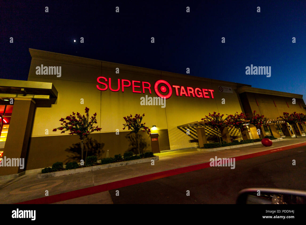 super target store with cvs pharmacy in atwater california usa stock