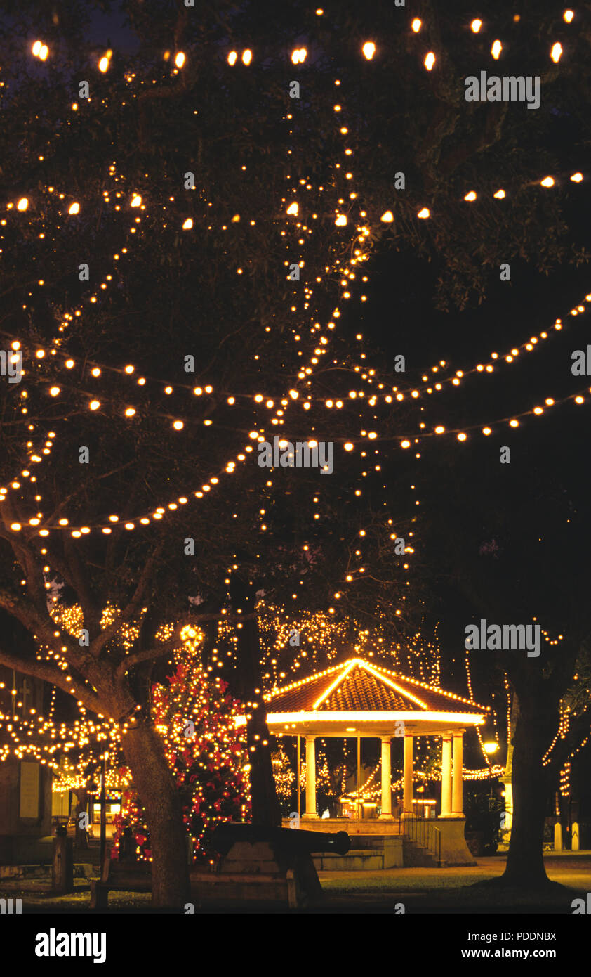 St Augustine Lights Nights Of Lights, St. Augustine, Florida