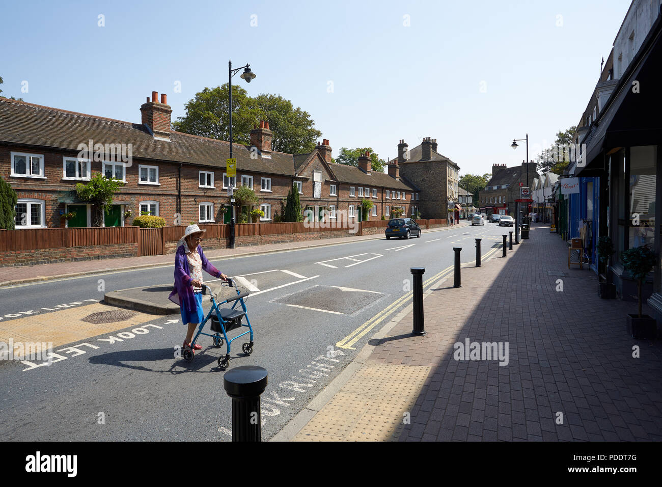 Styleman's Alms Houses, Bexley Stock Photo