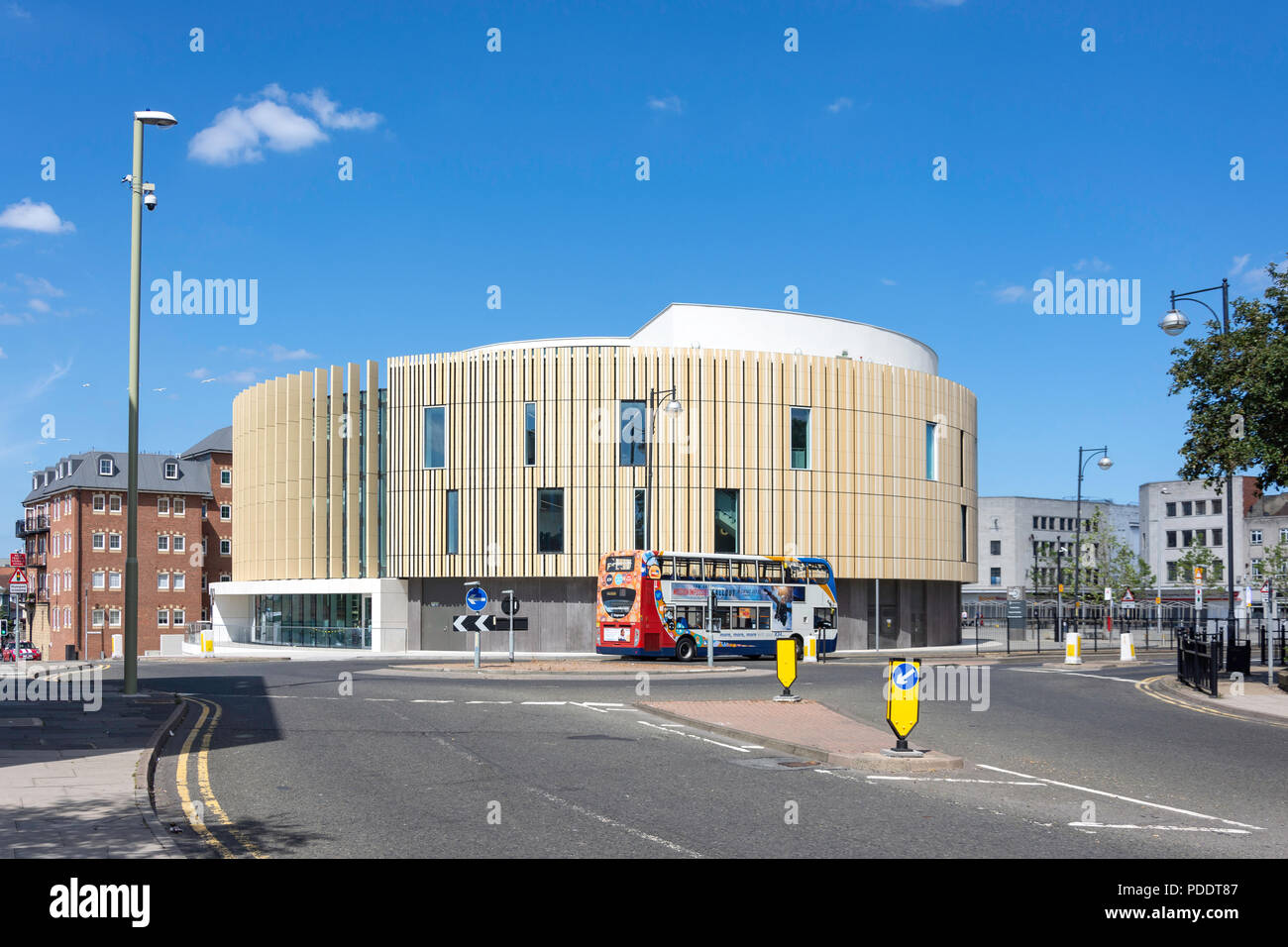 The Word, National Centre for the Written Word, Market Place, South Shields, Tyne and Wear, England, United Kingdom Stock Photo