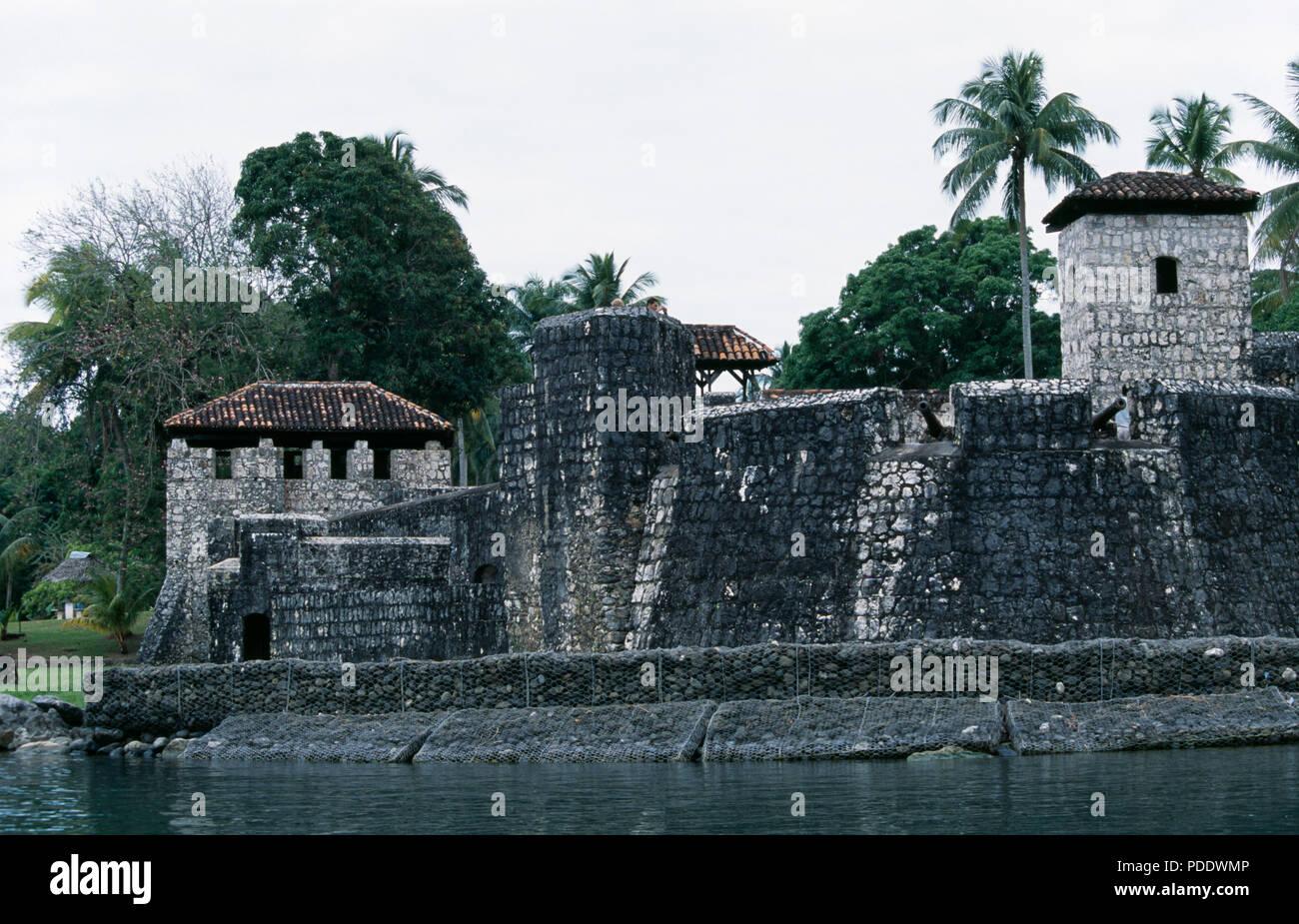 World Heritage Site Castillo De San Felipe De Lara Rio Dulce In