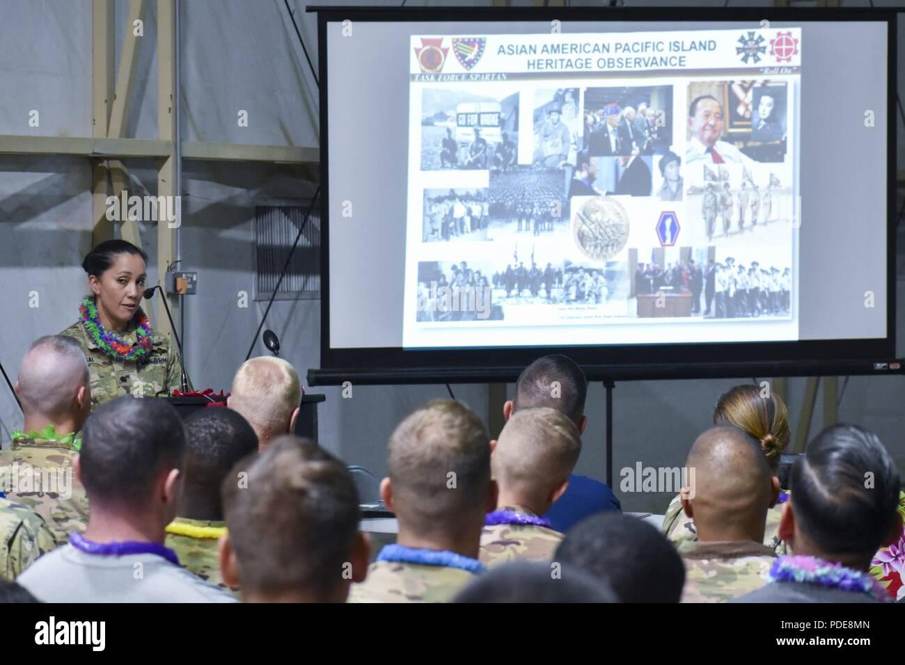 Courtney Sugai 541st Combat Support Sustainment Battalion Commander Speaks About