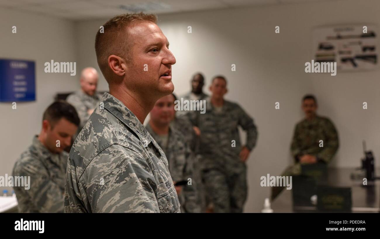 U S  Air Force Capt  Jonathan Read, 39 Security Forces