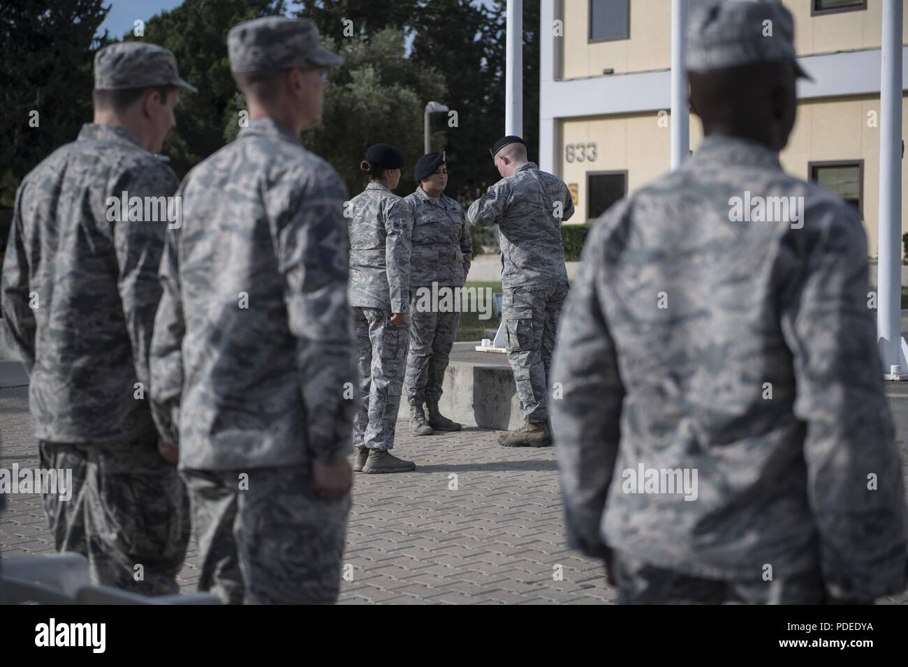 U S  Air Force Airmen assigned to the 39th Security Forces