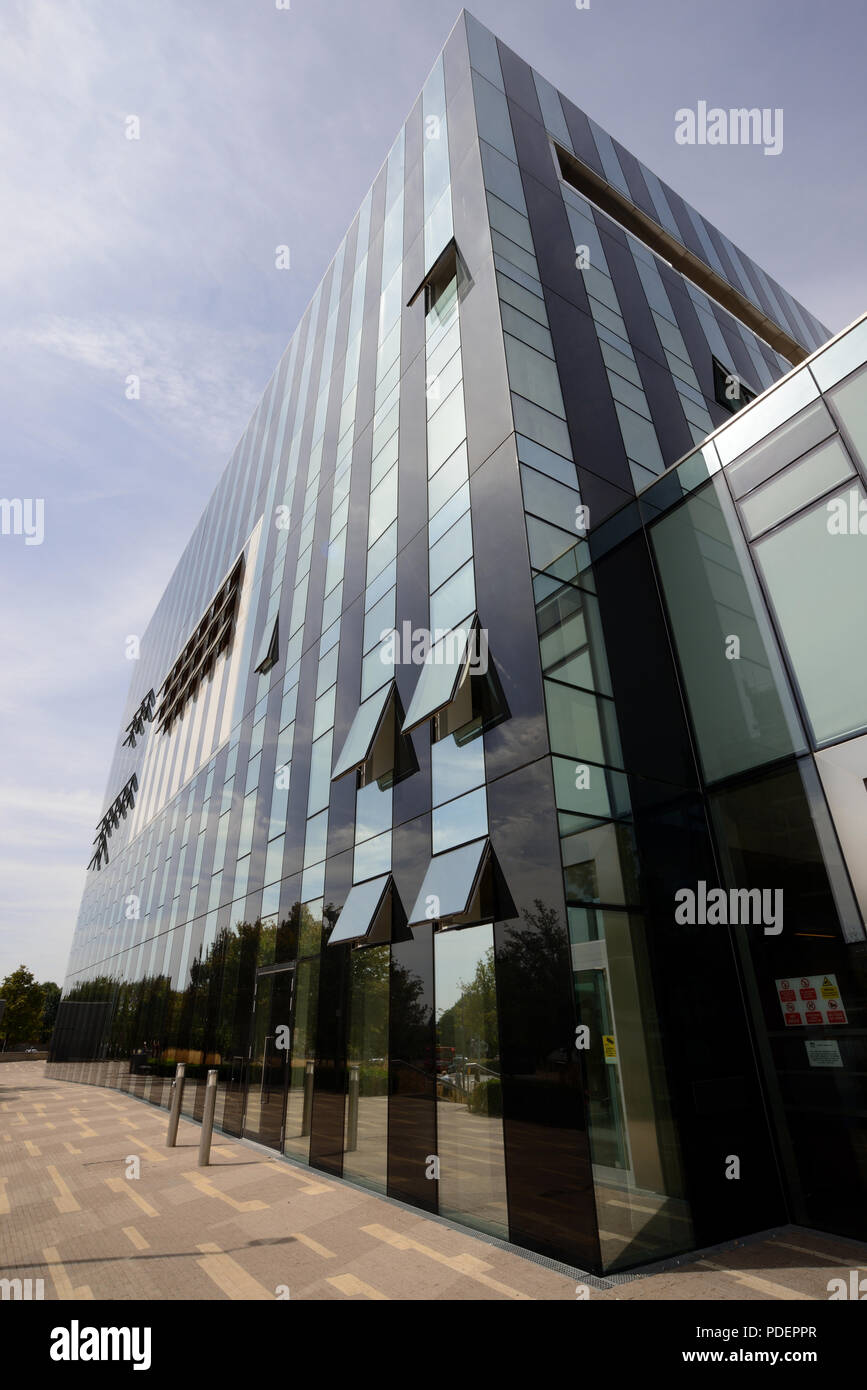 Northamptonshire county council offices Corby England UK - Stock Image