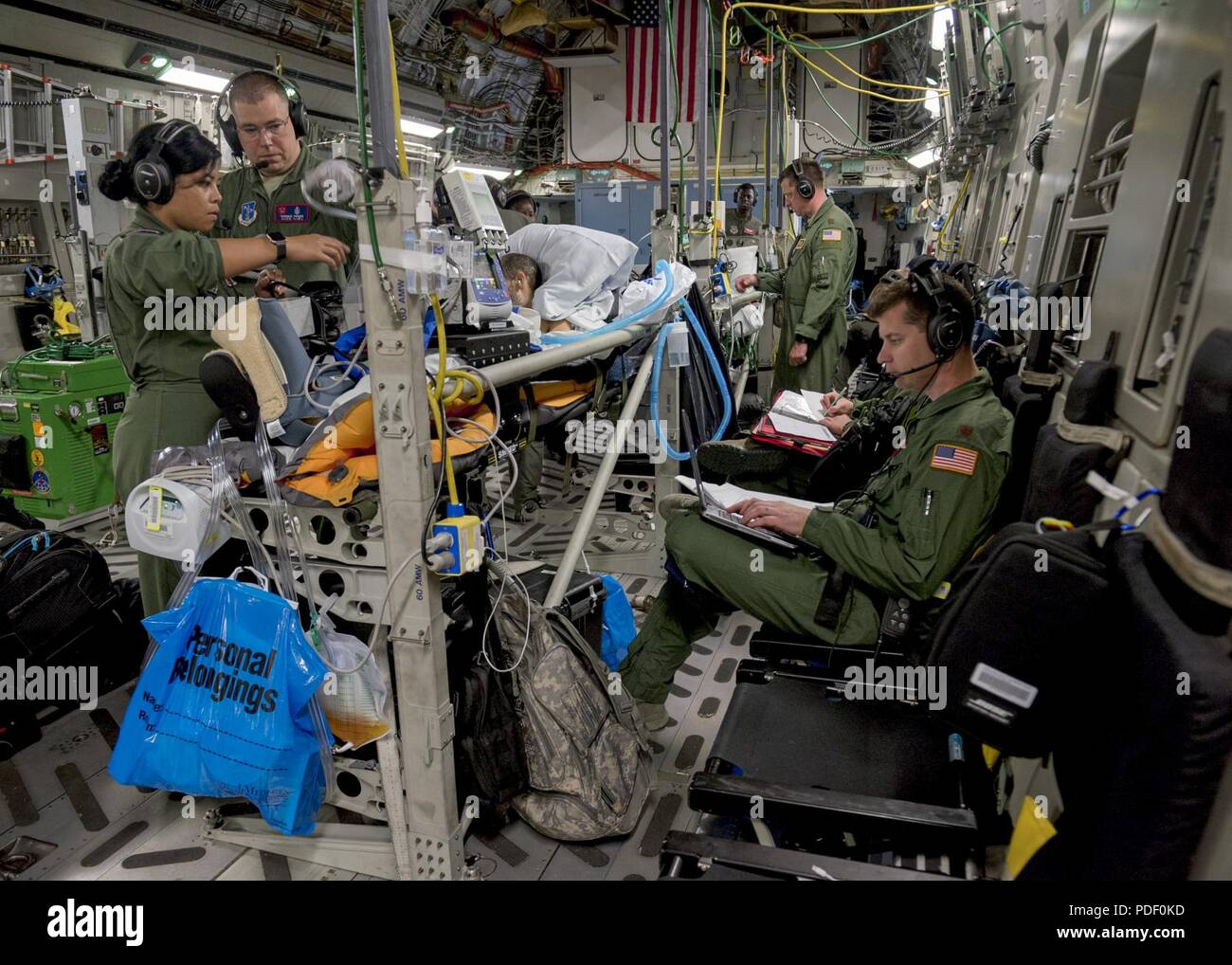 Critical Care Transport Teams Stock Photos Electrical Wiring Joints Pdf Air And Aeromedical Evacuation Provide Medical Attention To Patients