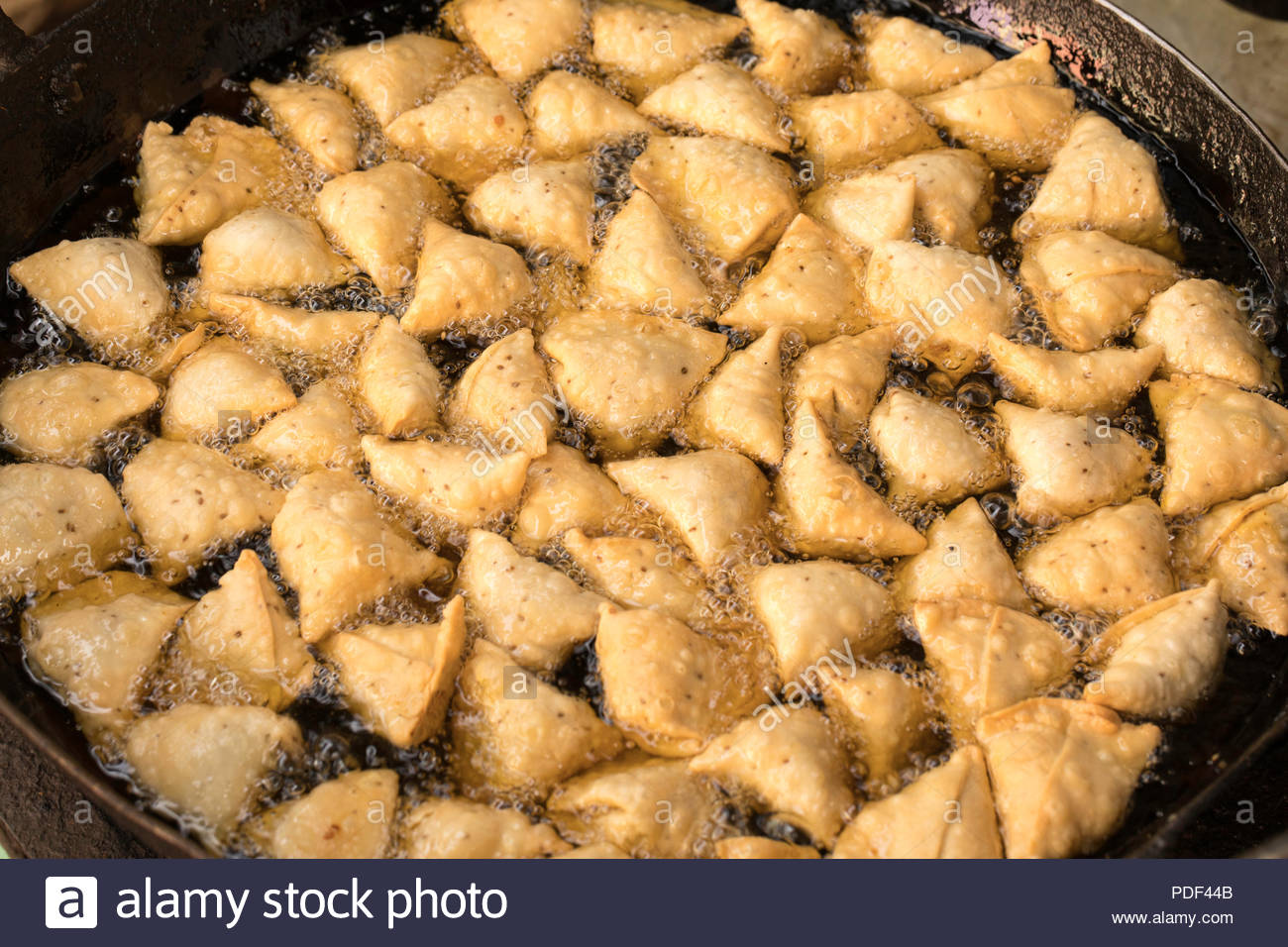 Indian Traditional Street Food Samosa Samosa Made Of Fine