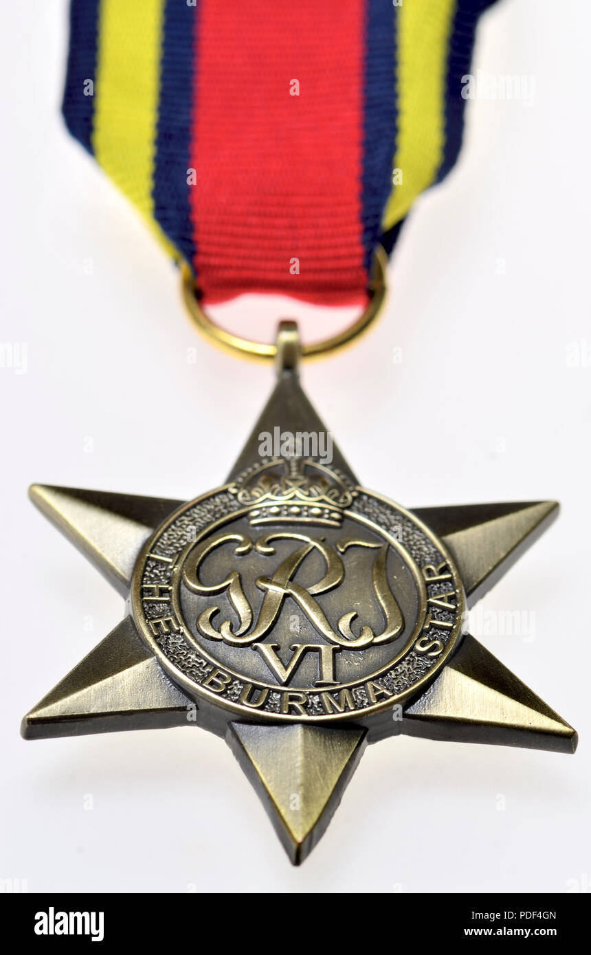 Replica Burma Star Campaign Medal WW2 Brand New Copy