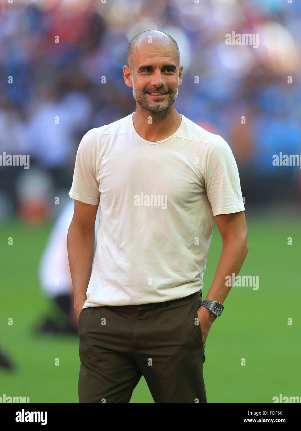 Pep Guardiola Stock Photos & Pep Guardiola Stock Images ...