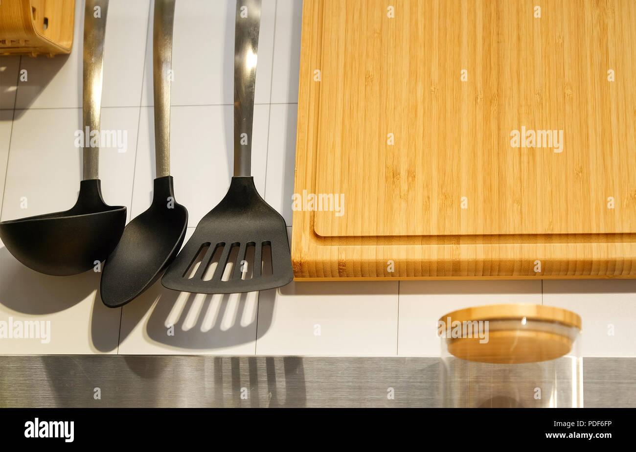 Potato Masher Kitchen Utensils Stock Photos & Potato Masher Kitchen ...