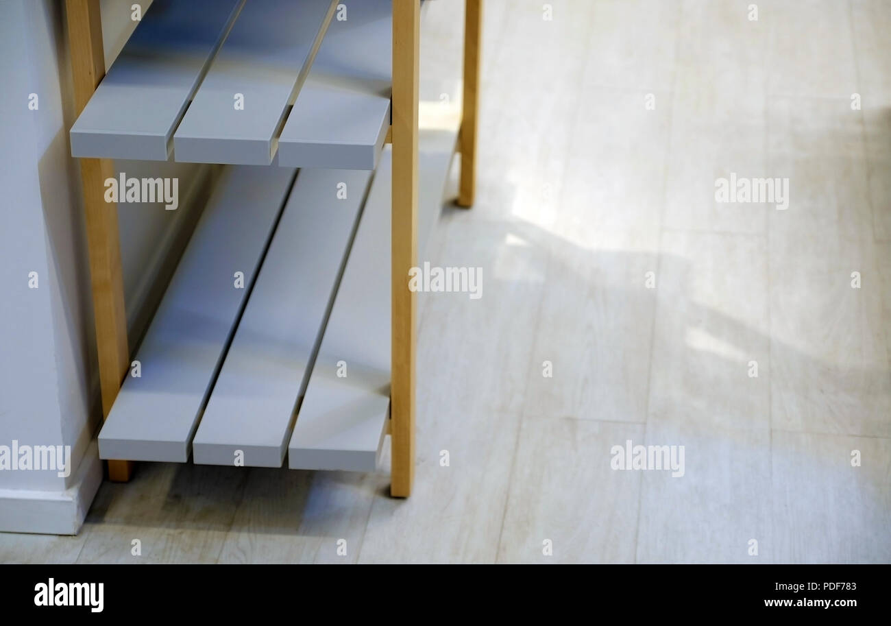 Wooden bookcase  Polished Board  Different types of wood