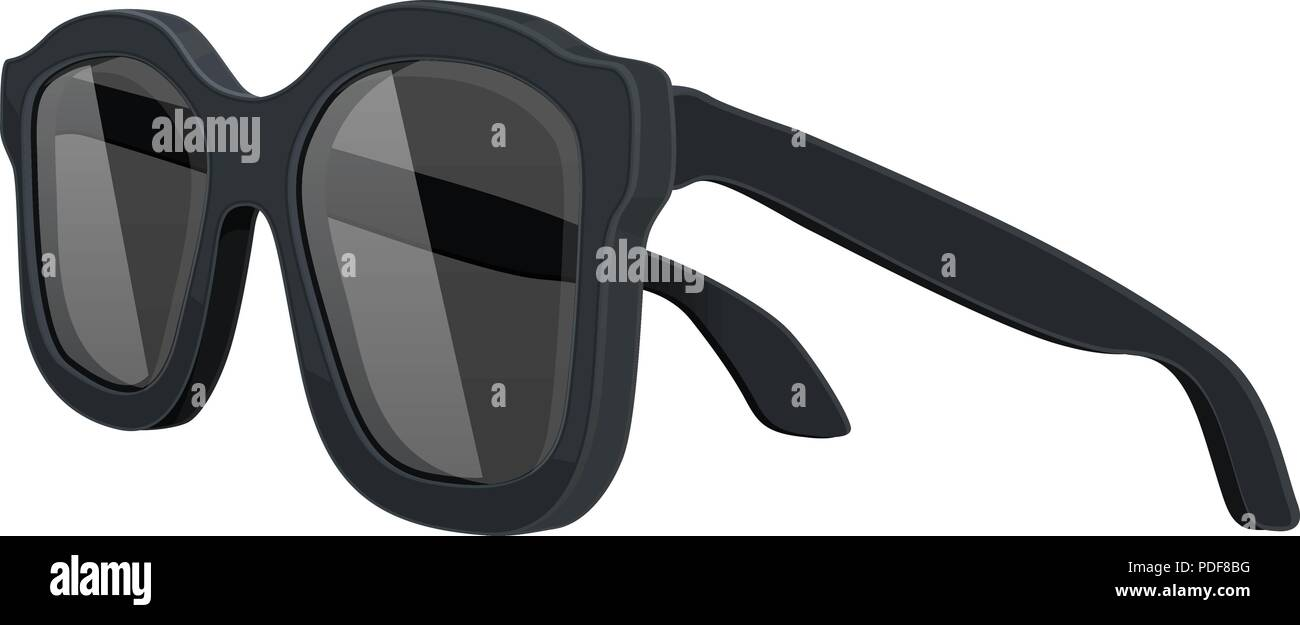 Sunglasses. Side view - Stock Image