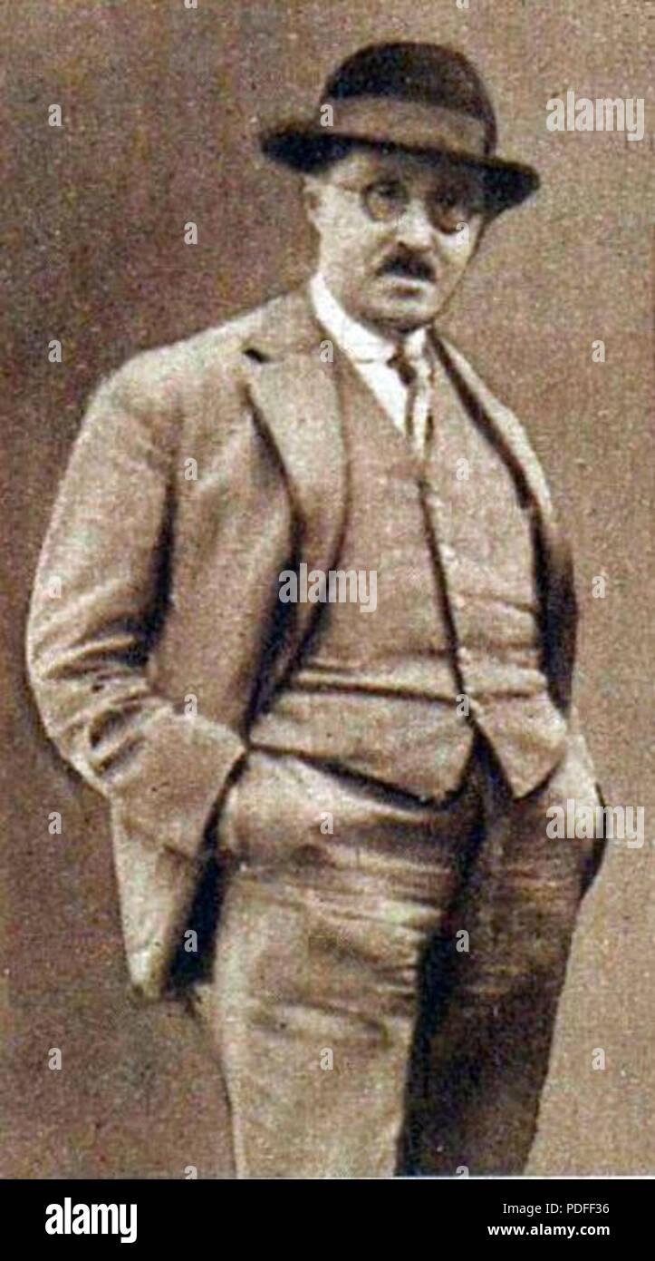 123 Emmanuel Gambardella en 1929 - Stock Image