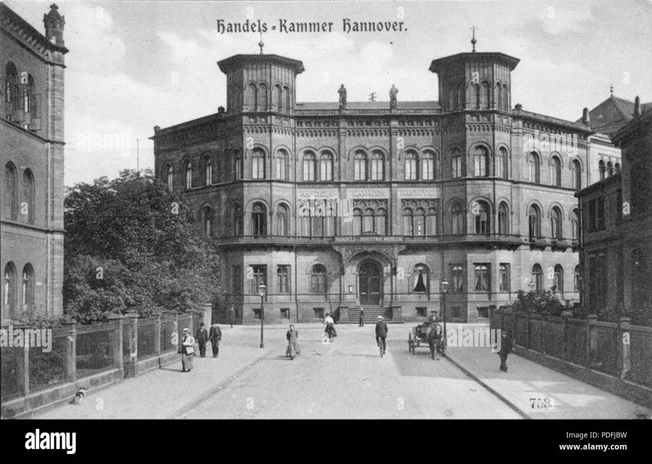 149 Handels-Kammer Hannover - Stock Image