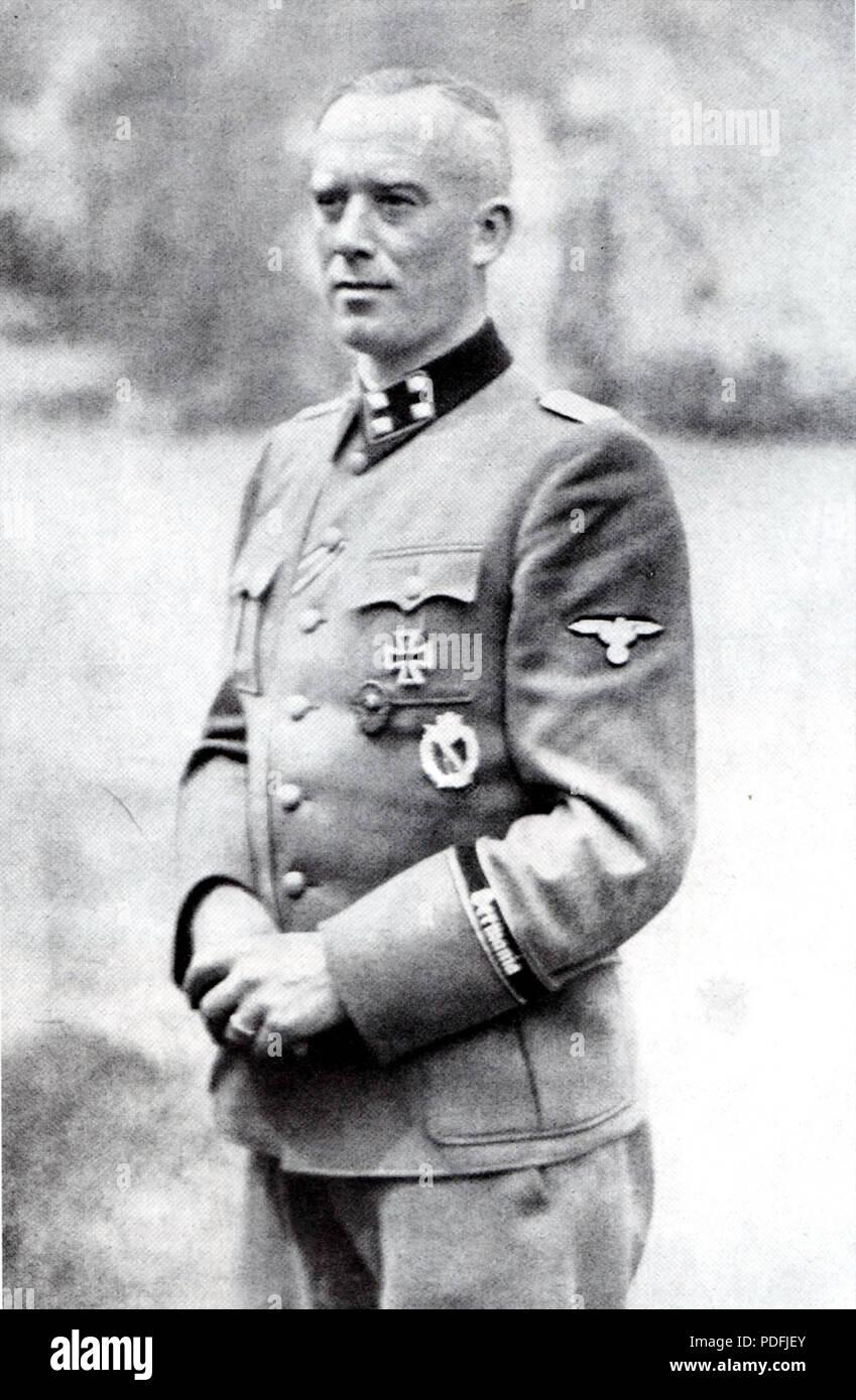 149 Hans-Albert von Lettow-Vorbeck - Stock Image