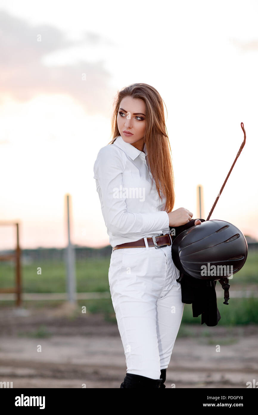 Woman with whip images