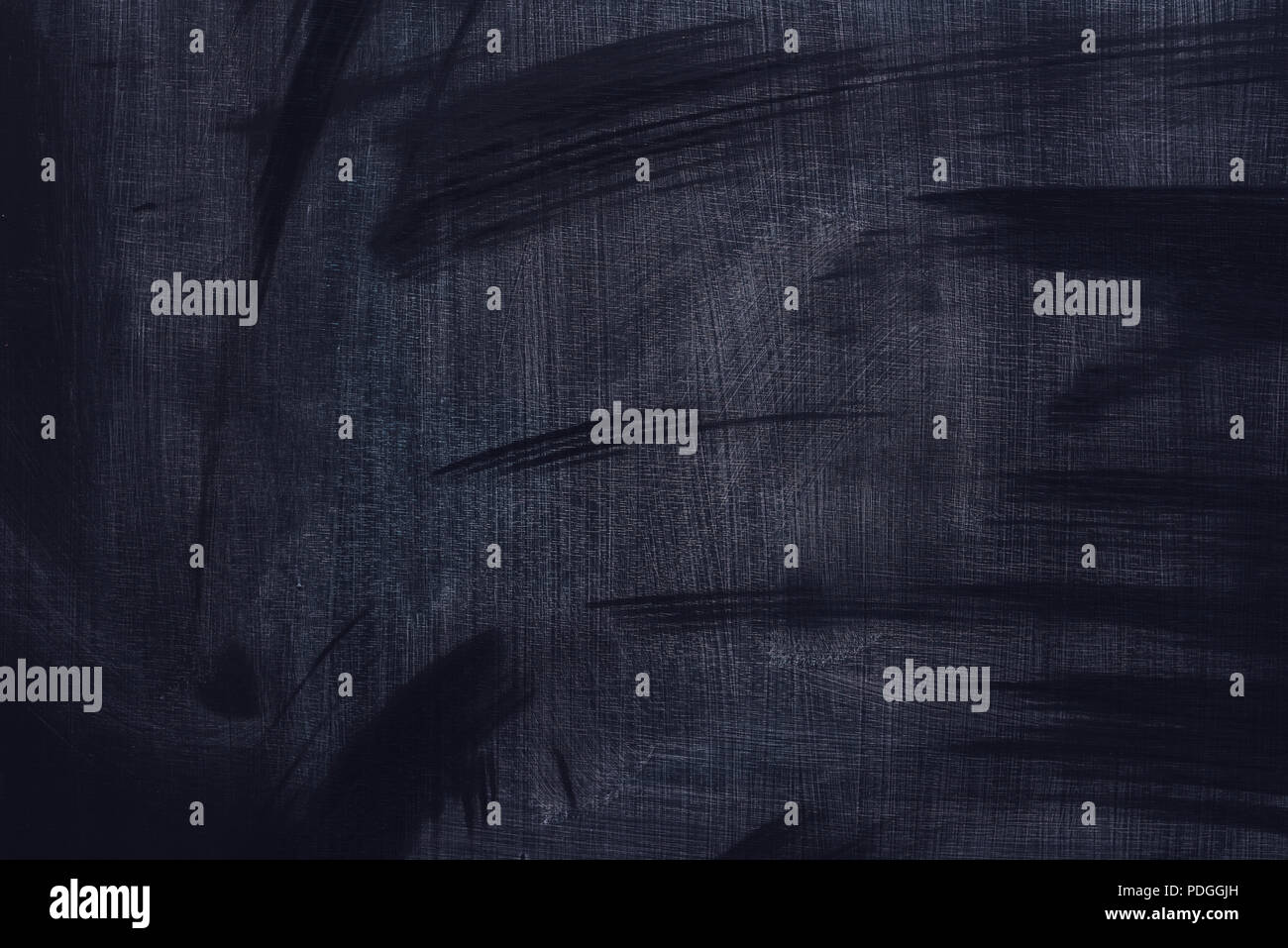 Dirty school blackboard surface as copy space grunge background Stock Photo