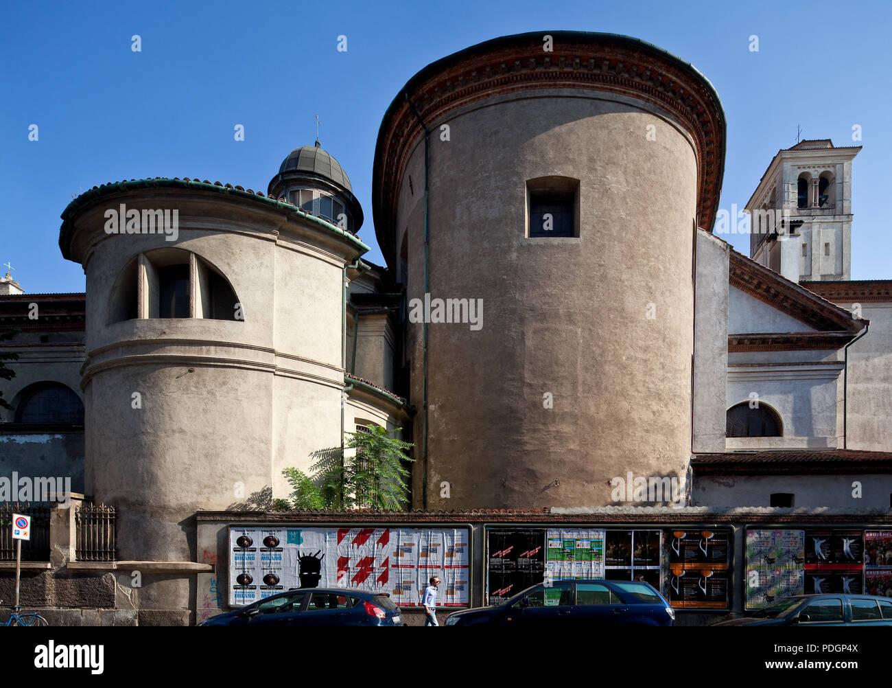 Italien Milano Mailand Kirche San Vittore al Corpo nach mehreren  Vorgängerbauten ca 1570-80 als