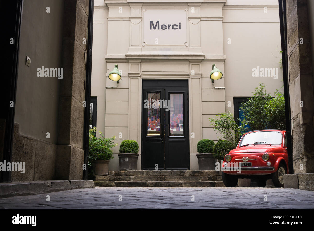 Merci Paris Stock Photos & Merci Paris Stock Images - Alamy