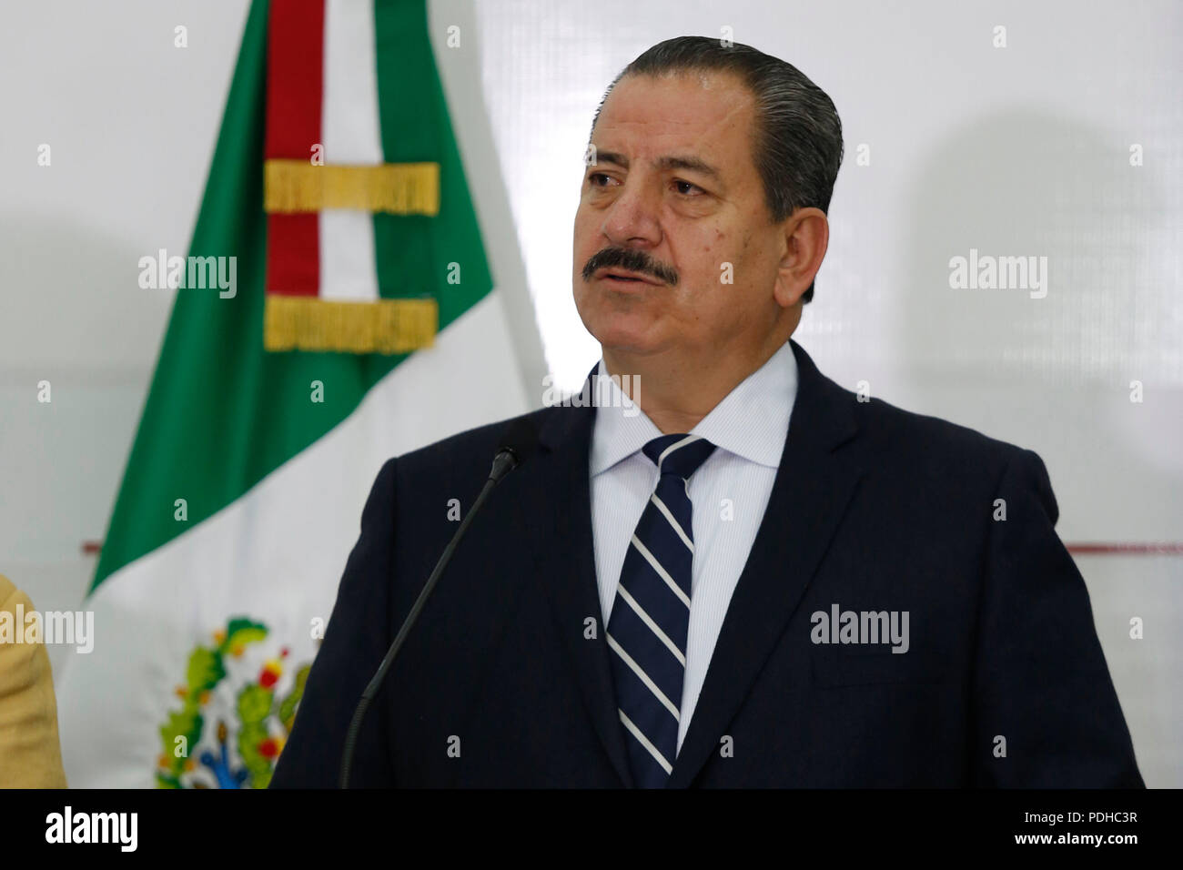Mexico's State Attorney Raul Sanchez Jimenez takes part in a