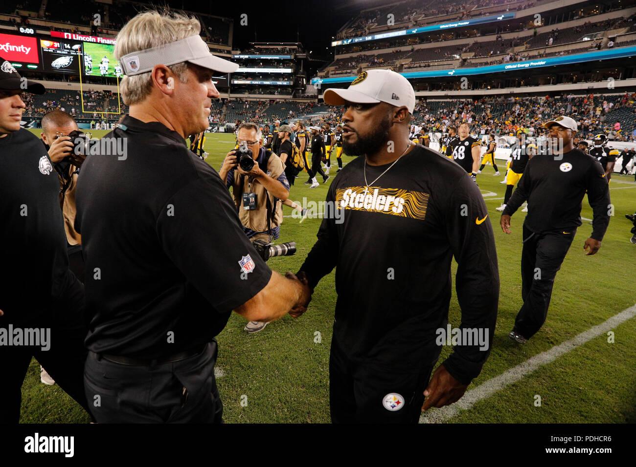 Pittsburgh Steelers Head Coach Mike Stock Photos   Pittsburgh ... b9f5da9e8