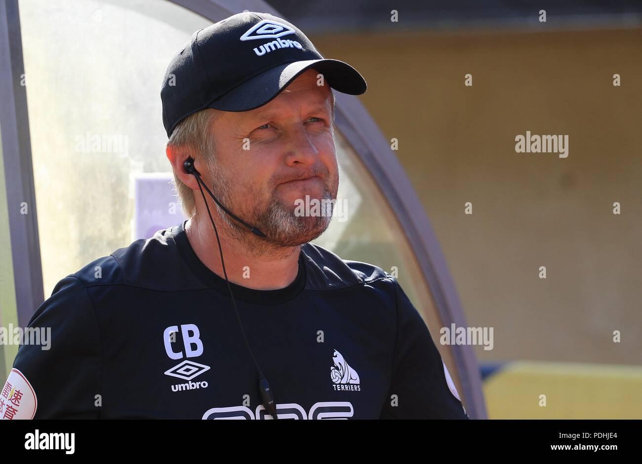 firo Football, 03.08.2018 1st Bundesliga, season 2018/2019 Test match RB Red Bull Leipzig - Huddersfield Co coach   - Stock Image
